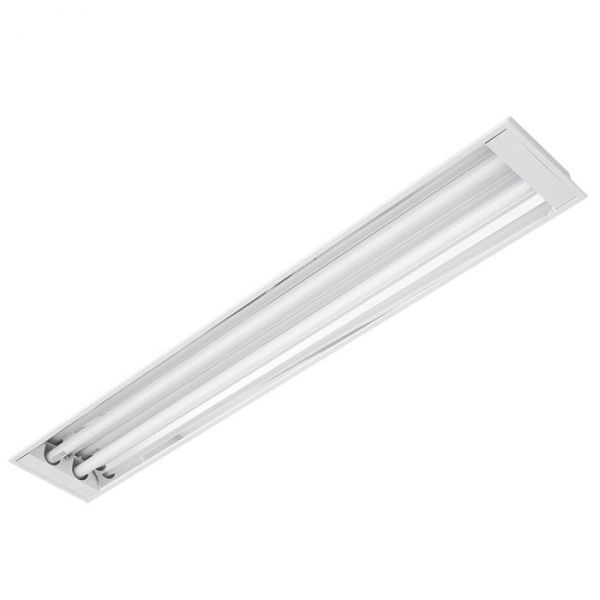 Lumin ria alto rendimento embutir t8 2x40w ecp eletrica - Luminaria fluorescente estanca ...